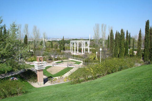 Parque Juan Carlos I Jardines Parques Madrid España