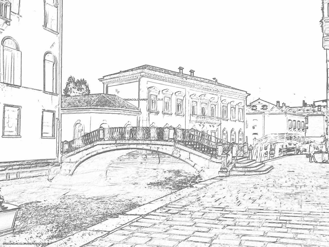 Venice Sketching Drawings