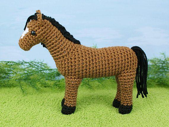 Amigurumis Caballitos A Crochet : Pdf horse amigurumi crochet pattern ganchillo y patrones