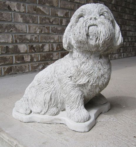 Exceptional Custom Painted Cement Statues Of Your Best Friend From Your Photos.