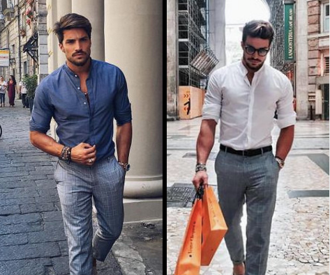 Jezeli Chodzi O Styl To Male Rzeczy Potrafia Robic Wielka Roznice Podwijanie Rekawow W Koszuli Zdecydowanie Do Nich Nalezy Fashion Men