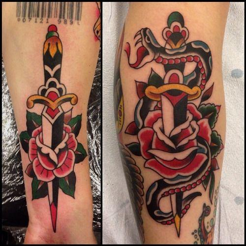 Pin Op Rose Tattoos