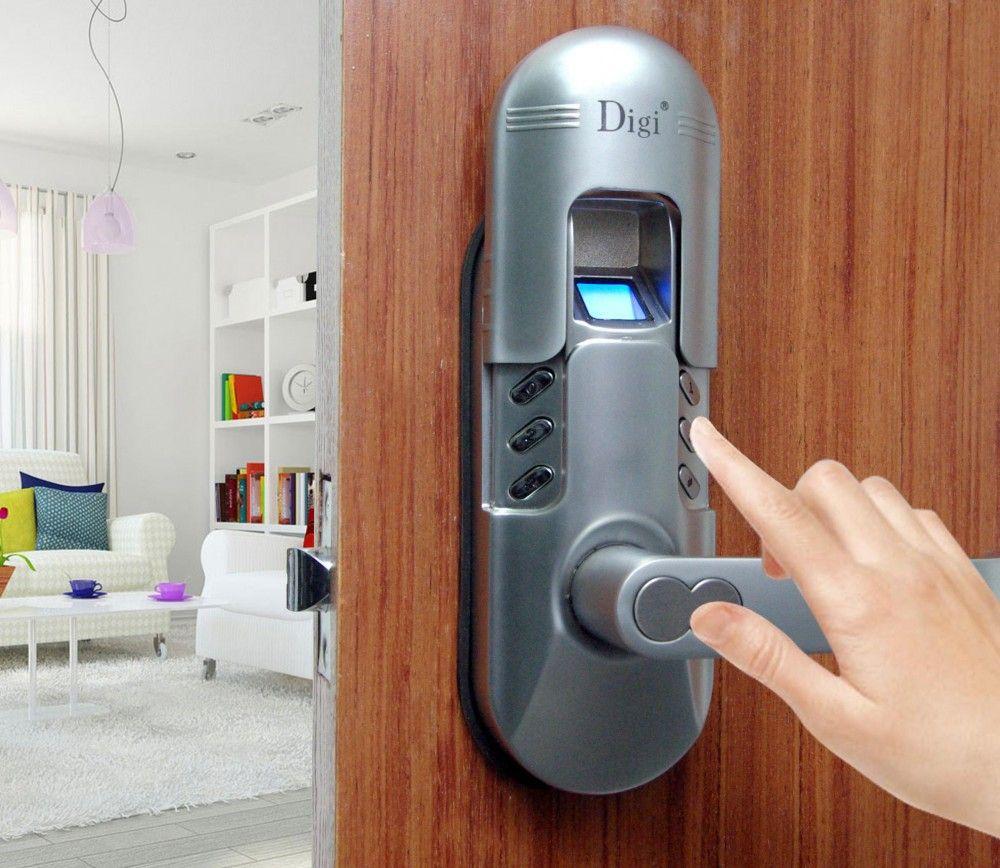 Biometric Door Lock For Apartment Home Door Ideas Fingerprint Door Lock Biometric Door Lock Keyless Door Lock