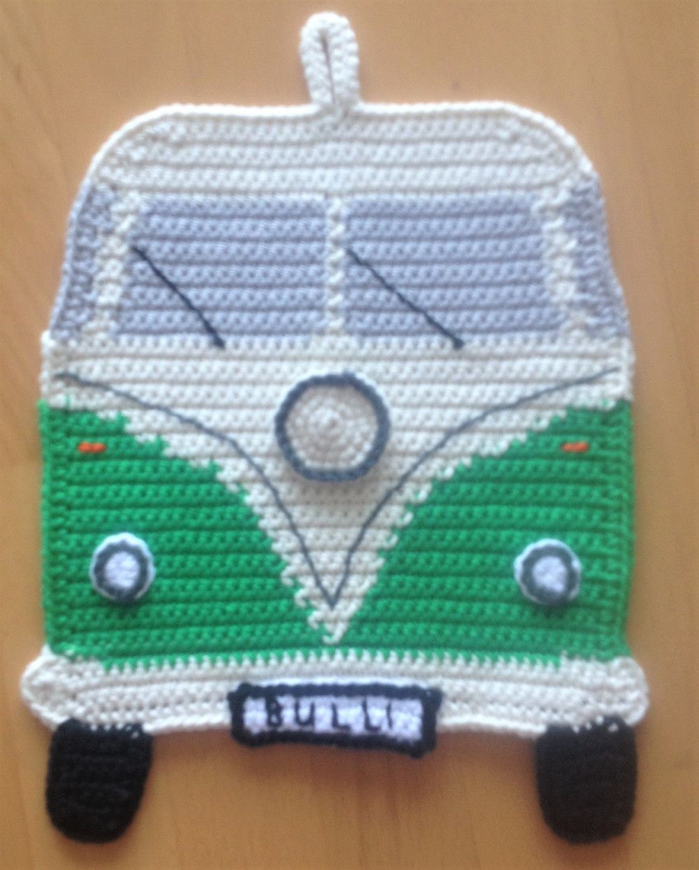 Topflappen Vw Bulli Häkeln Pinterest Crochet Knitting Und
