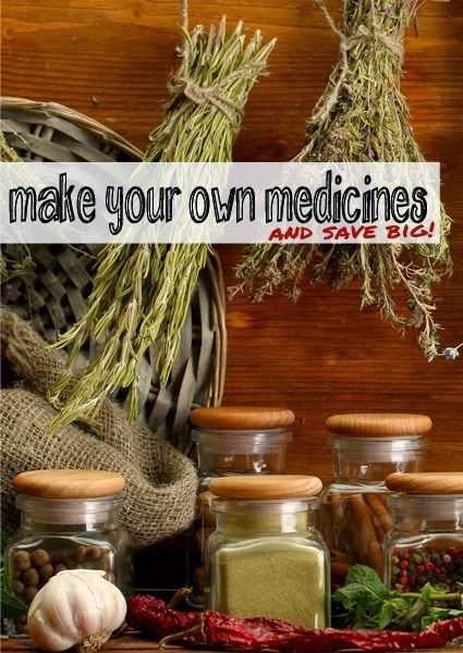 Make your own medicines ... and save BIG