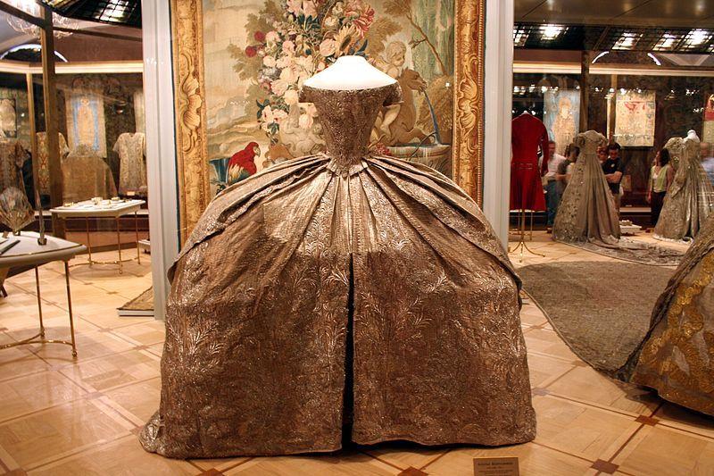 Catherine IIs Wedding Dress 1745