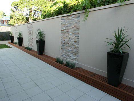 Ideas de como puedes decorar las paredes de tu patio for Decoracion de paredes exteriores