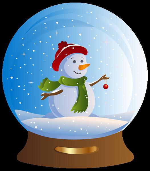 Snowman Snowglobe Transparent Png Clip Art Image Snow Globes Christmas Snow Globes Clip Art