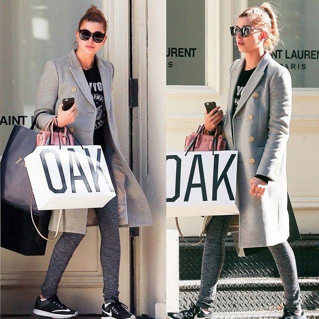 #haileybaldwin #nyfw  #paparazzi #snap #2015fw #fashionweek #newyork #sunglasses #gentlemonster #streetfashion #fashion @fordmodels #헤일리볼드윈