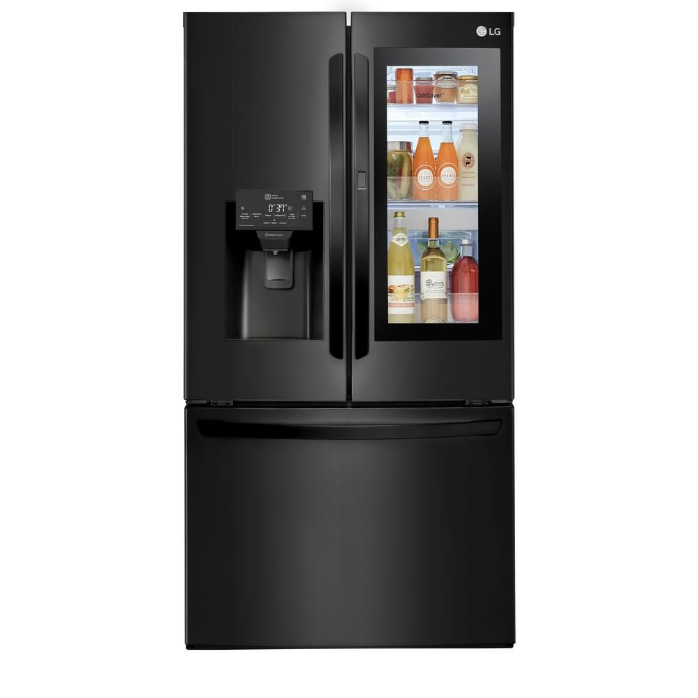 Lg Electronics 28 Cu Ft 3 Door French Door Smart Refrigerator