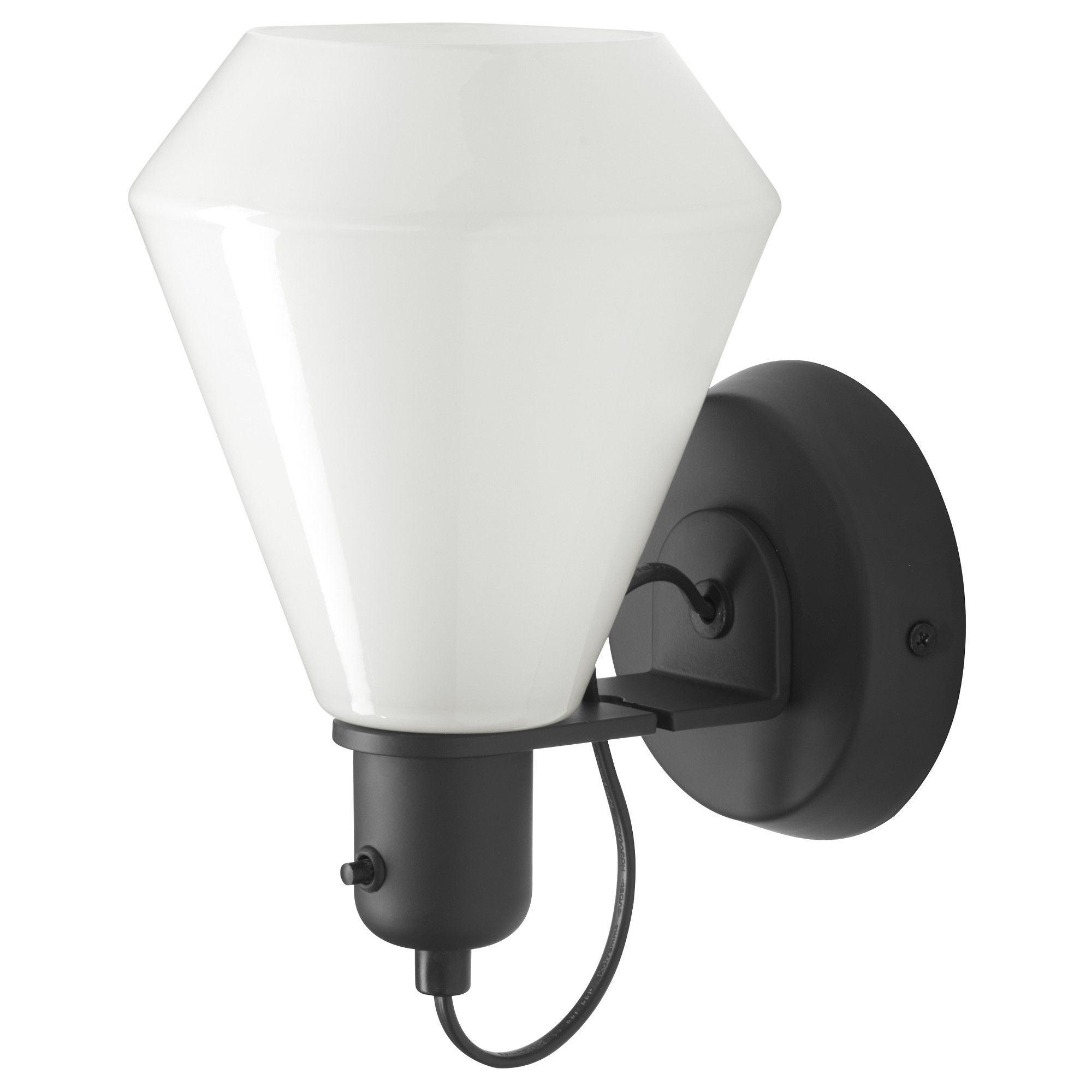 IKEA   ÄLVÄNGEN, Wall Lamp, Hardwire Installation , Can Be Mounted With The  Light Turned Up Or Down.Gives A Soft Glowing Light, That Gives Your Home A  Warm ...