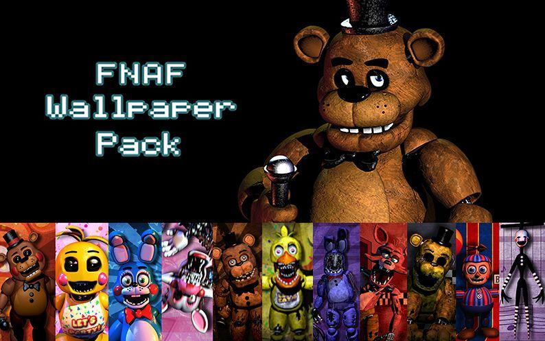 FNAF Wallpaper Pack by