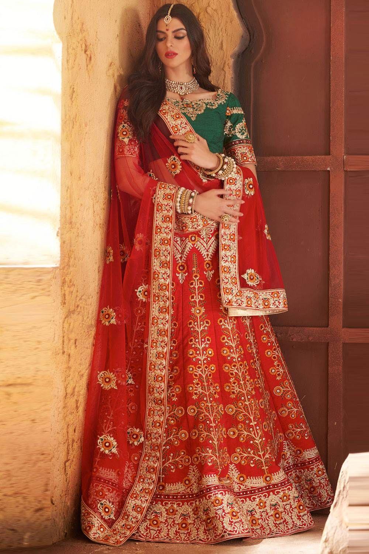 Beautiful Wedding Lehenga Choli Colletion For Marriage Buy Indian Lehengas With Varieties Of