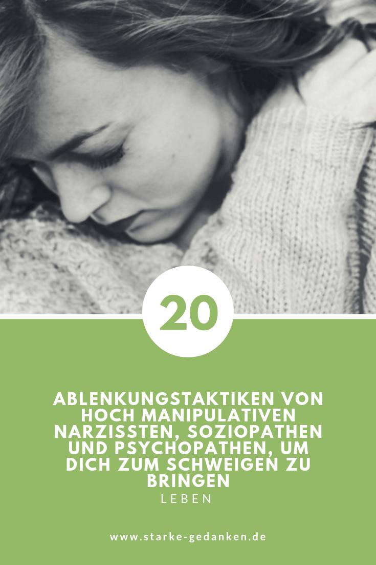20 Ablenkungstaktiken von hoch manipulativen Narzissten