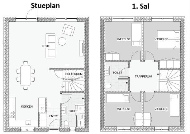 Trankær Mosevej 37-49, 8310 Tranbjerg J - Nyopførte 2- plans rækkevillaer fra 2016 i attraktive Tranbjerg #rækkehus #tranbjerg #selvsalg #boligsalg #boligdk