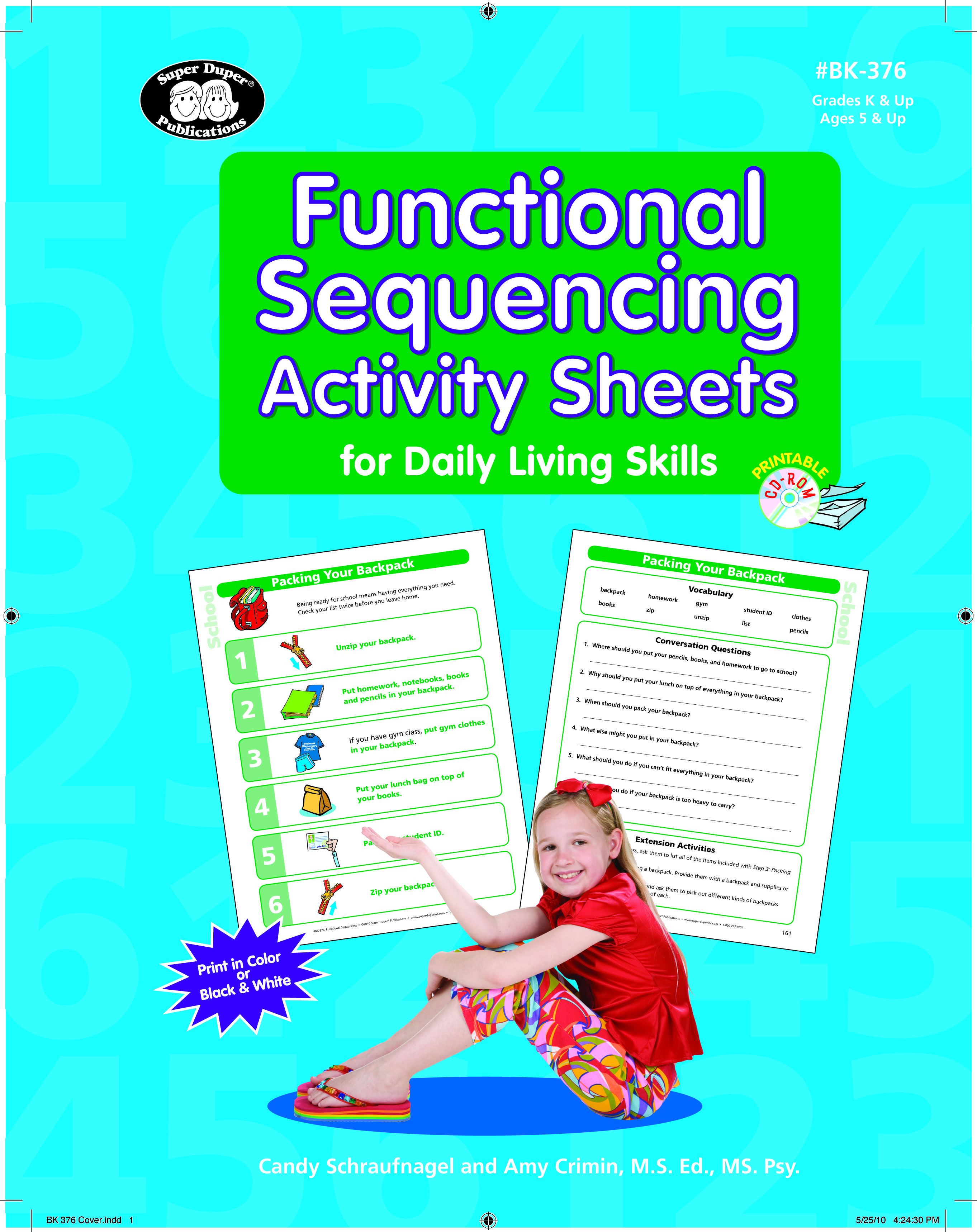 Functional Sequencing Activity Sheets For Daily Living Skills