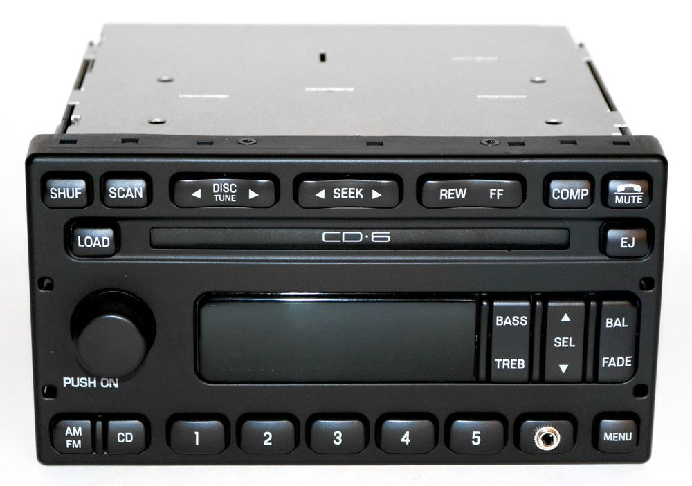 Ford windstar 2001 2003 radio am fm 6 disc cd w auxiliary input ford windstar 2001 2003 radio am fm 6 disc cd w auxiliary input 1f2f fandeluxe Images