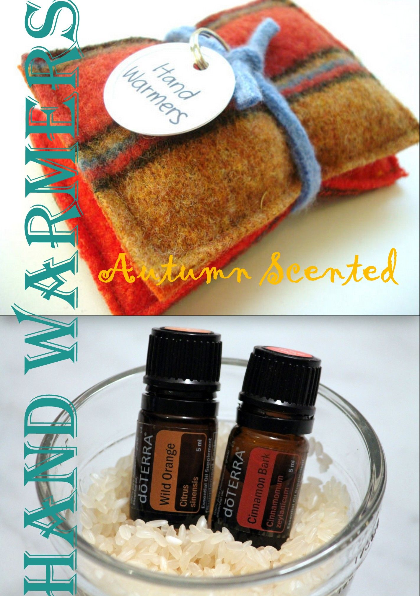 Make Your Own Autumn Scented Woolen Hand Warmers!