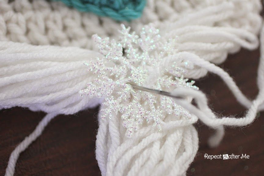 Crochet Snow Queen Hat Pattern #queenshats
