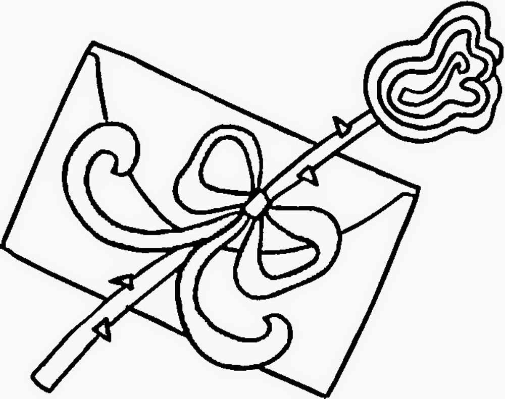 carta de amor y rosa flor para regalar en san valentin   Imagen para ...