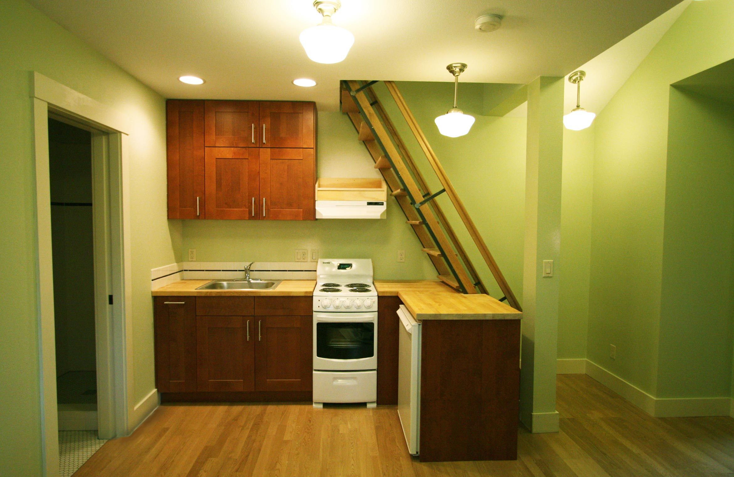 Certified Green Adu Kitchen In Portland Or Hammer Hand Accessory Dwelling Unit Building A House The Unit