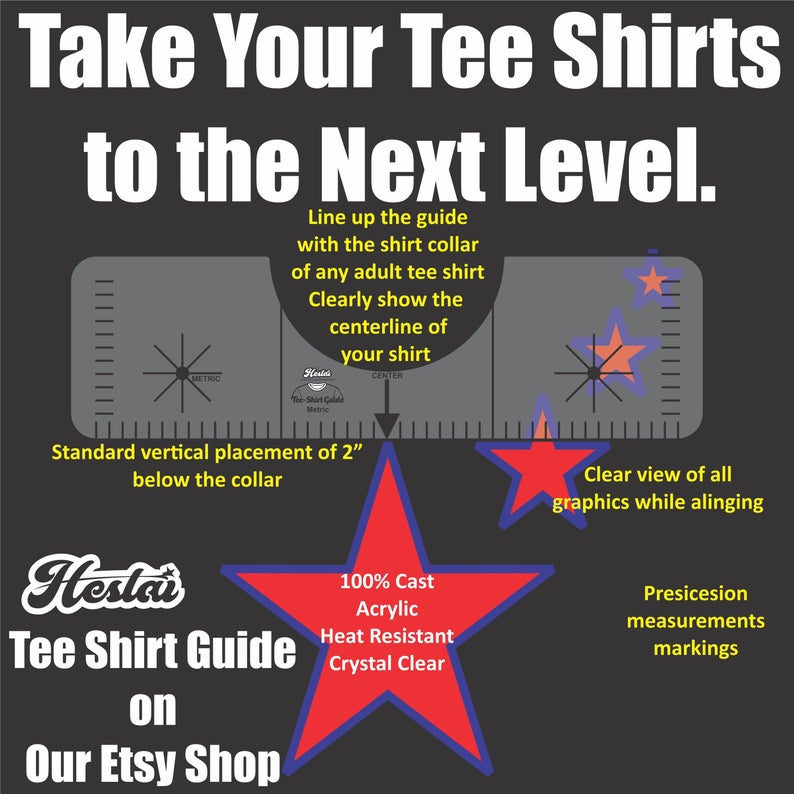 T Shirt Alignment Tool T Shirt Ruler T Shirt Centering Etsy Shirt Maker Tee Shirts Tee Shirt Print