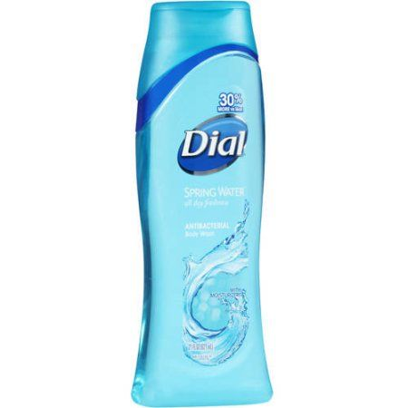 Dial Clean & Refresh Spring Water Antibacterial Body Wash with Moisturizers, 24 fl oz