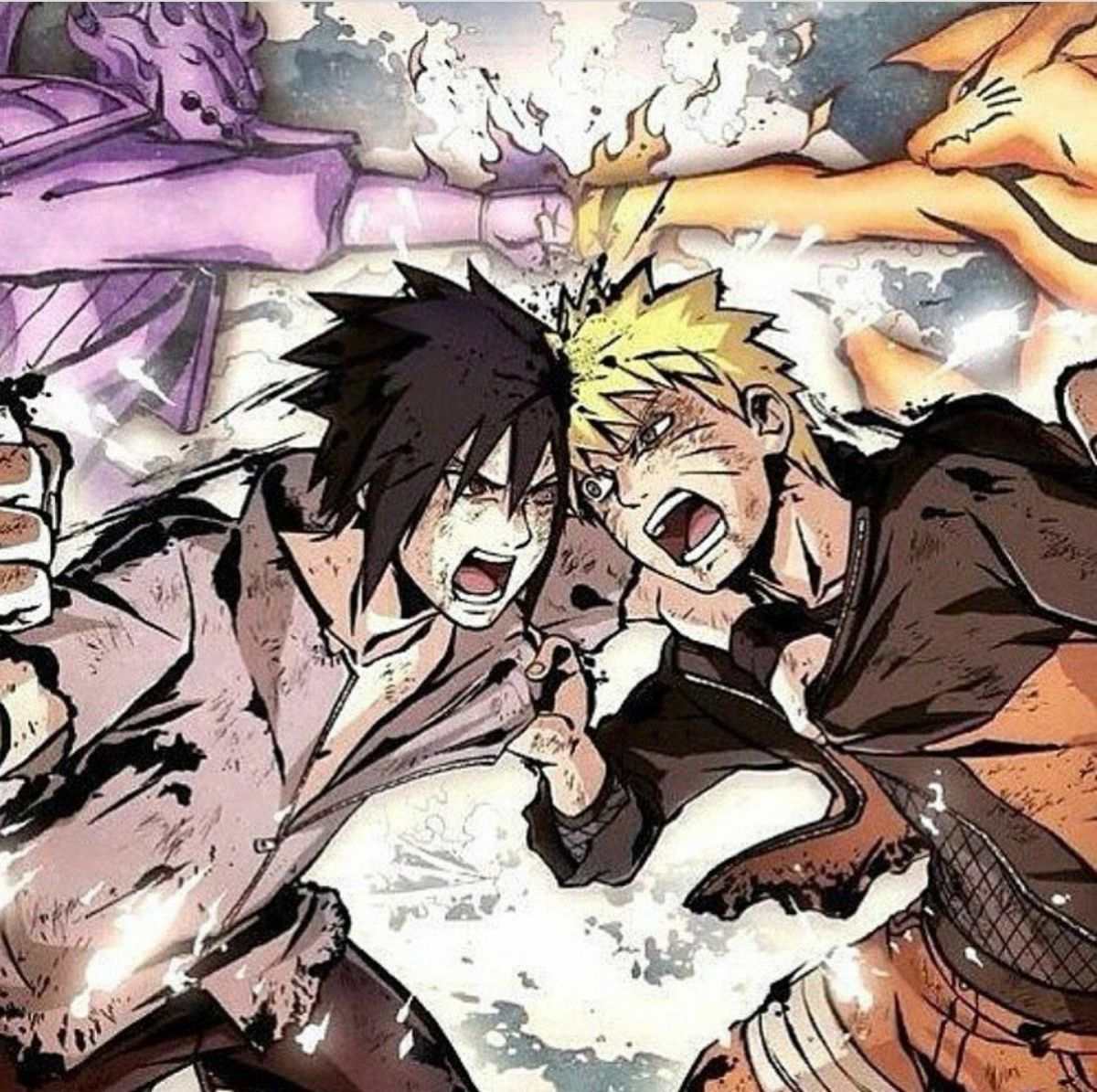 Naruto Vs Sasuke Final Battle