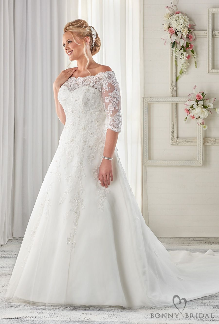 Mature bride wedding dresses  Bonny Bridal Wedding Dresses u Unforgettable Styles for Every Bride