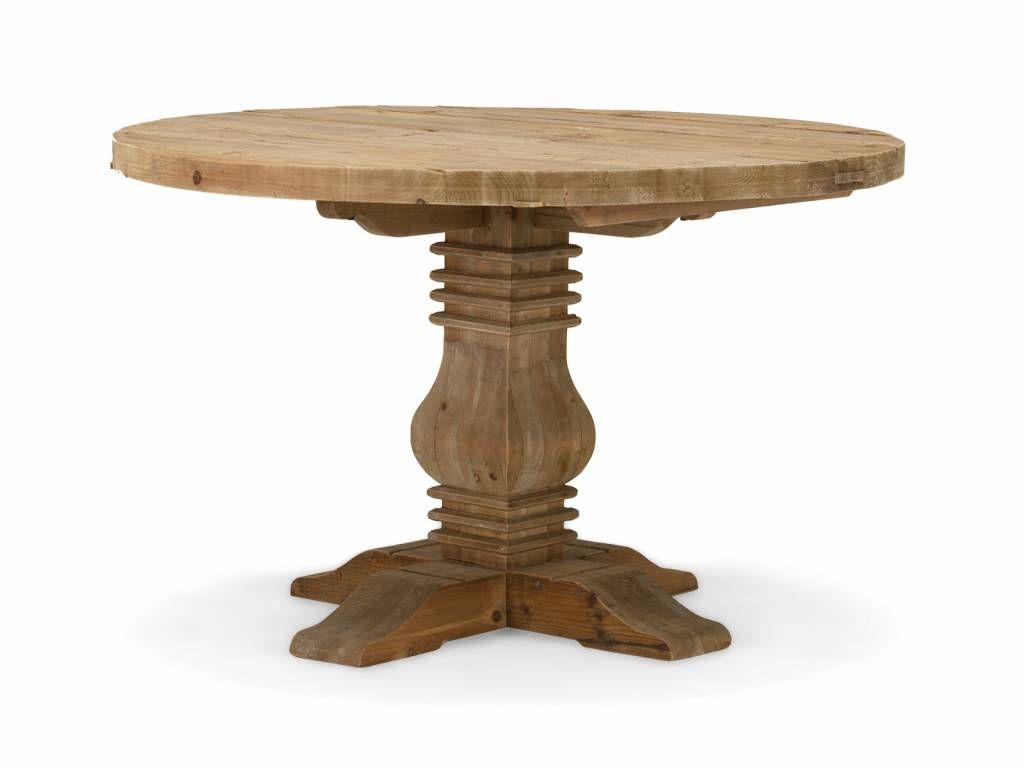 Runder Tisch Altholz Esstisch Teak Esstisch Massiv Eiche