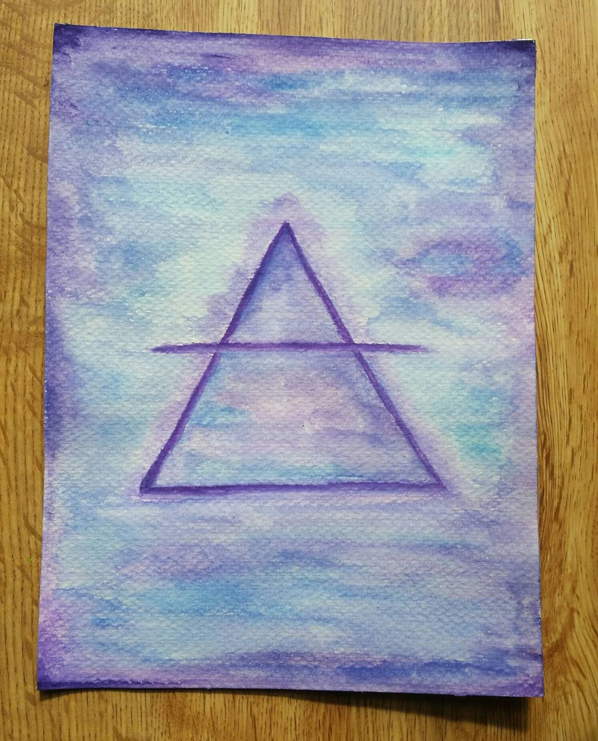 SALE: AIR Element Alchemy Symbol Watercolor Energy Painting | Alchemy  symbols, Painting, Symbols