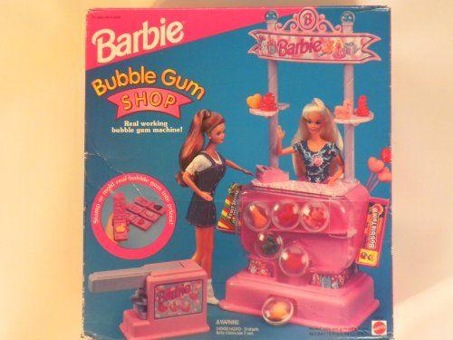 Barbie Bubble Gum Shop