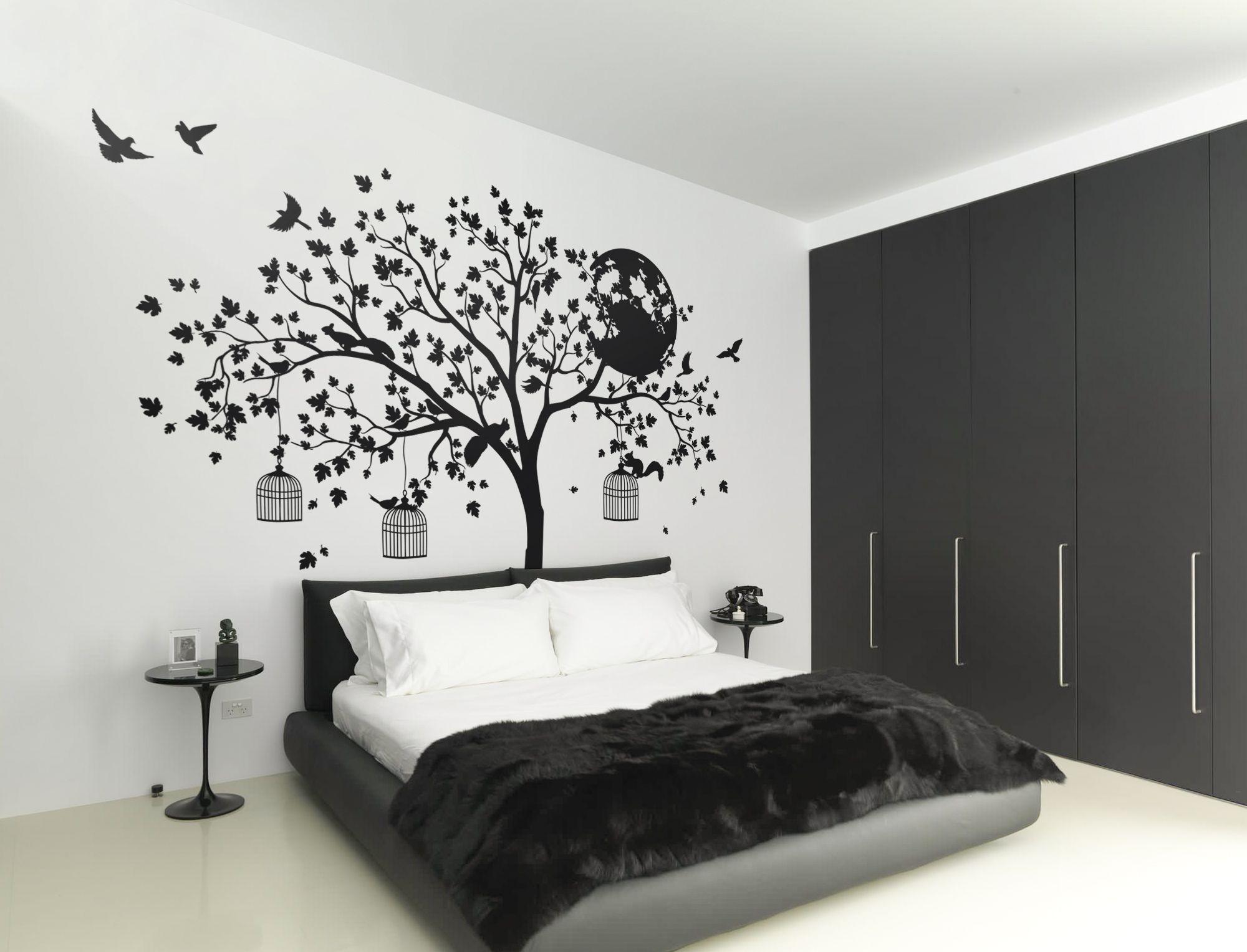 flying birds childs bedroom wall ceiling  Wall Sticker Art Vinyl Decal