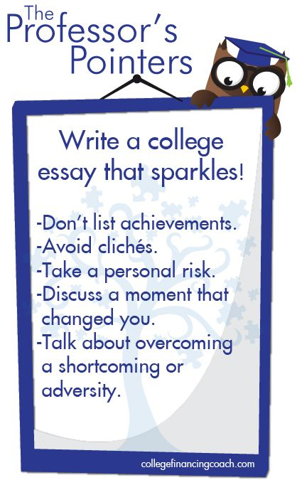 Write A College Essay That Stands Out From The Rest  College