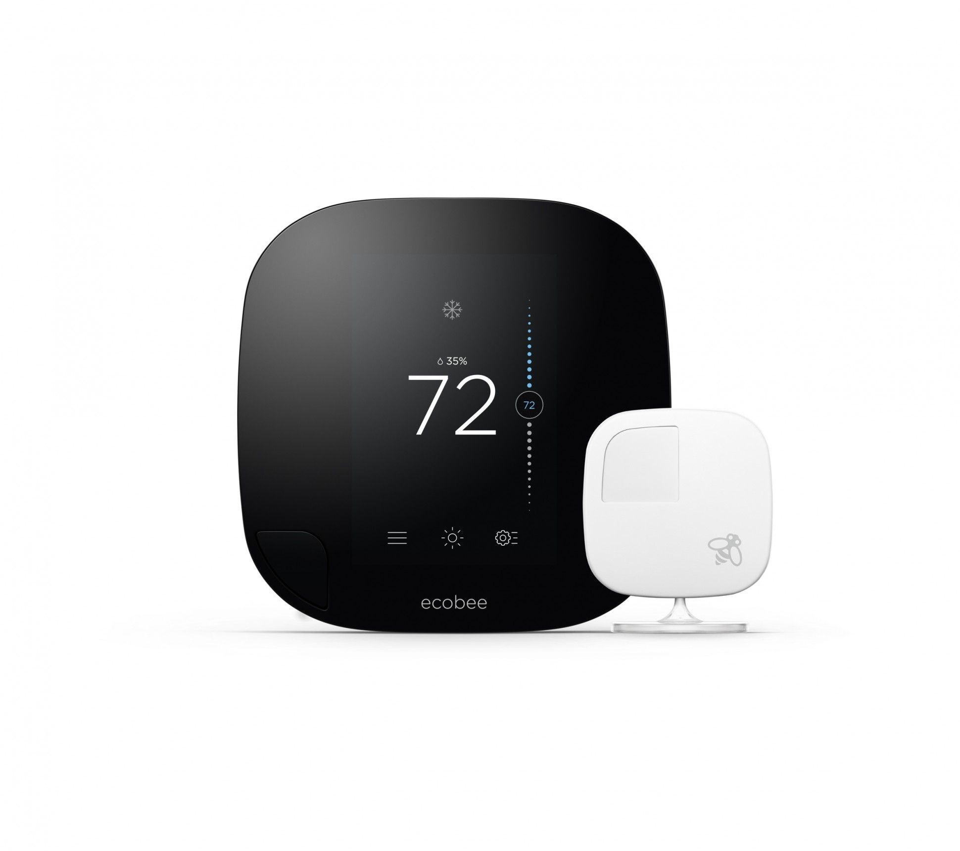 Ecobee3 Thermostat Review Smart Thermostats Ecobee Best Smart Home