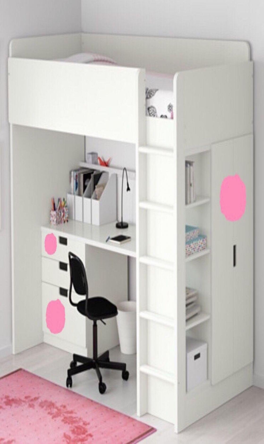 Hochbetten Mit Schrank Und Schreibtisch Ikea Stuva Hochbett M