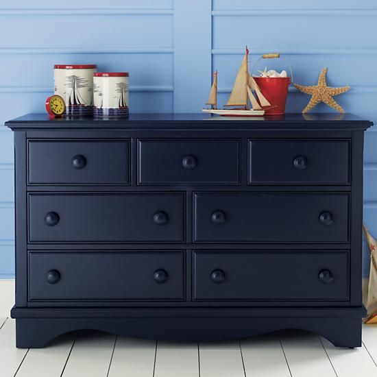 Kids' Dressers: Kids 7-Drawer Painted