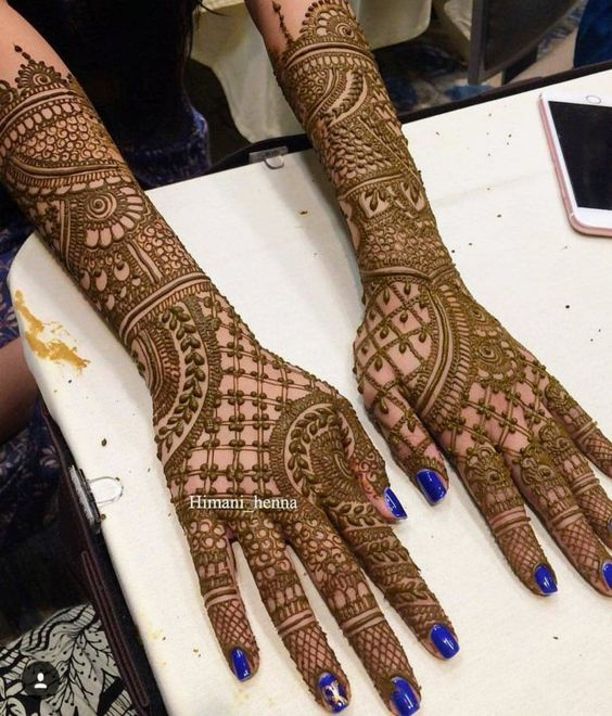 Attractive Dulhan Mehndi Design 2020