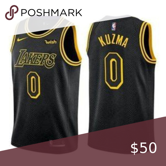 Los Angeles Lakers Kyle Kuzma Black Jersey Guaranteed All Our Items Are 100 Authentic Or 100 Your Money Bac In 2020 Los Angeles Lakers Kyle Kuzma Lakers Kobe Bryant