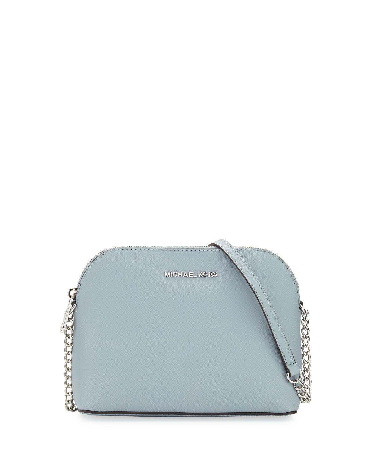 c5593a799983 Cindy Large Dome Crossbody Bag Dusty Blue | Pinterest buyable things ...