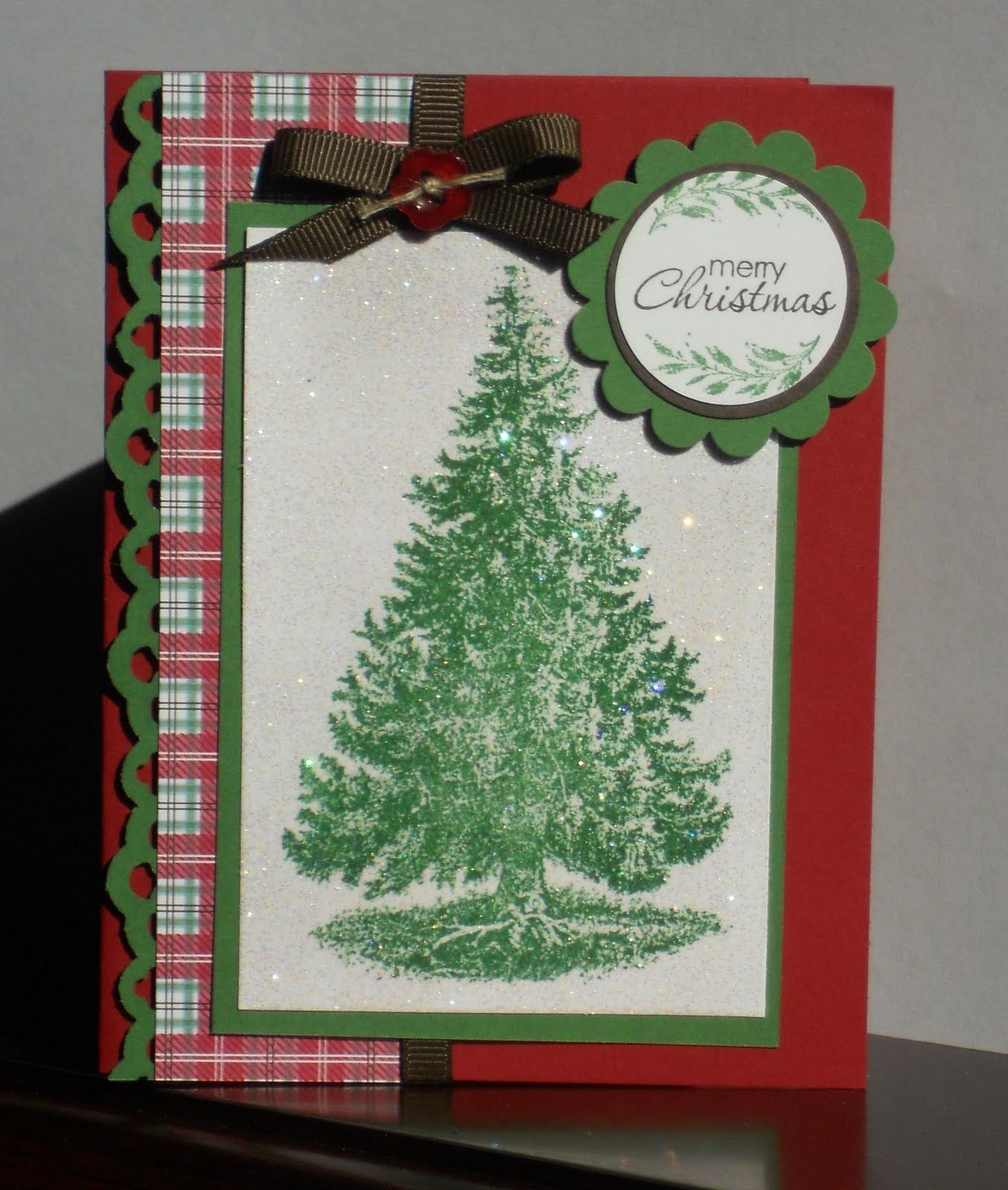 lodge christmas tree ideas | Krafty Klemo: Christmas Lodge | Cards ...