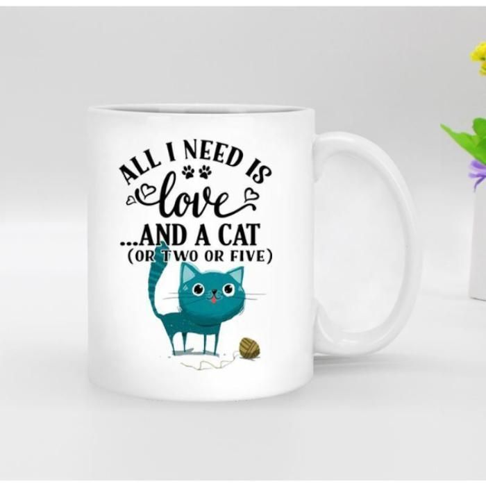 I Only Want 2 Cats Mug