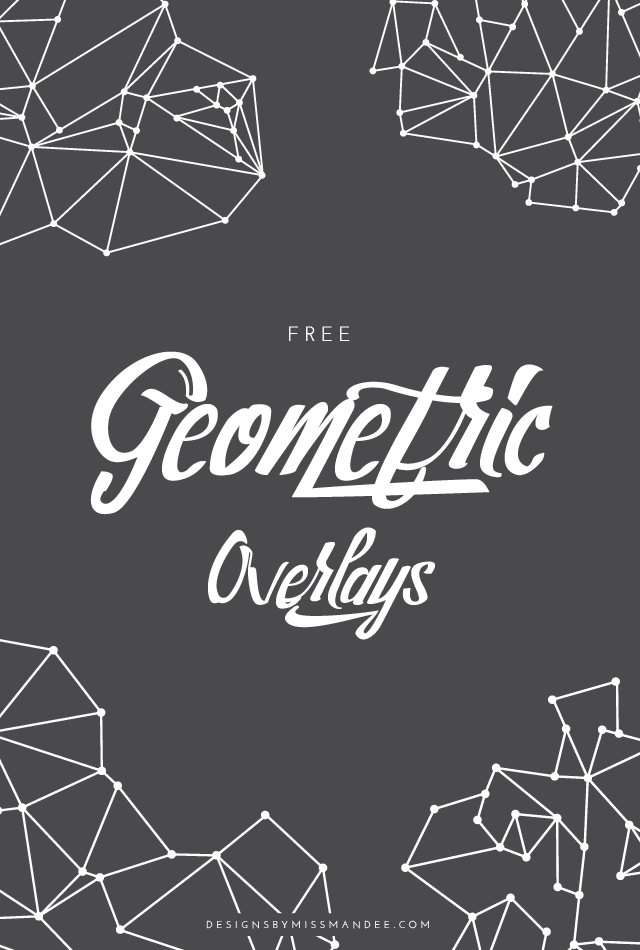 7c315c1b7817 Give your design or photo a sleek, cool, and modern feel with these free  geometric overlays. Four linear line and dot motifs.