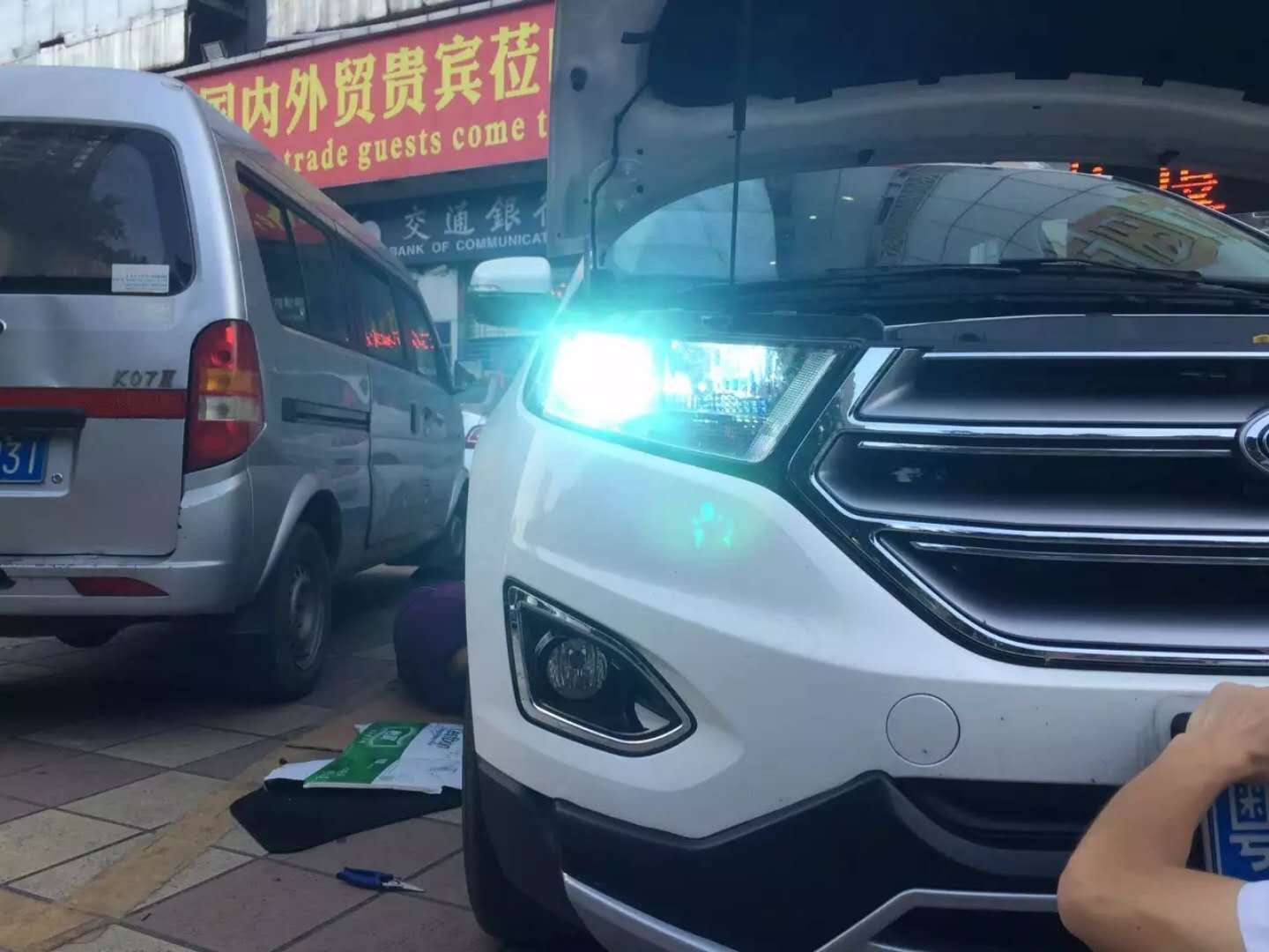 Ford Edge  Type Install Tai Da All In One Hid Xenon Special Car Use Lamp