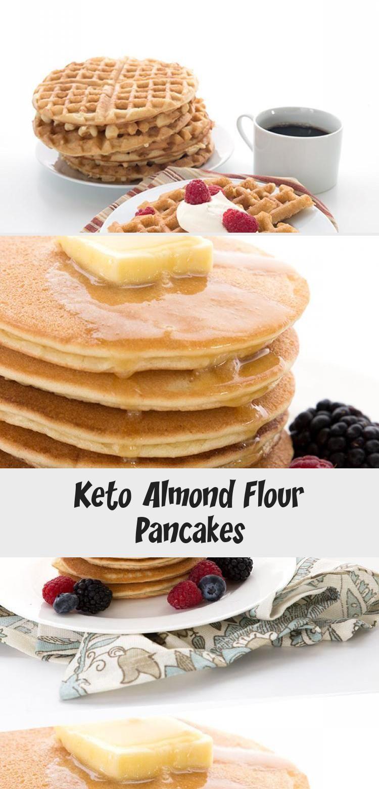 Keto Almond Flour Pancakes in 2020 Almond flour pancakes