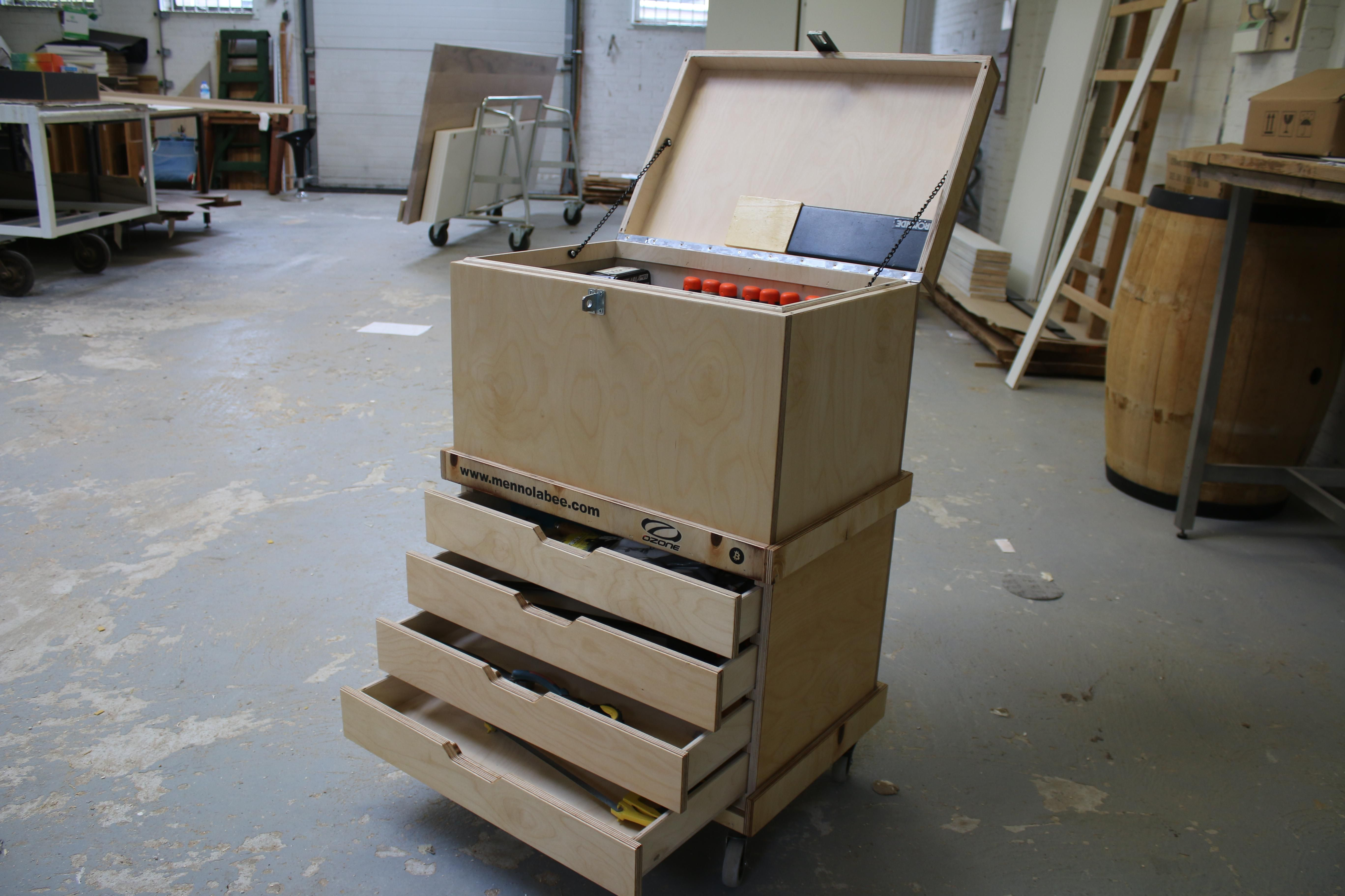 Made Myself A Toolbox From Berch Plywood Https Ift Tt 2uvjoso
