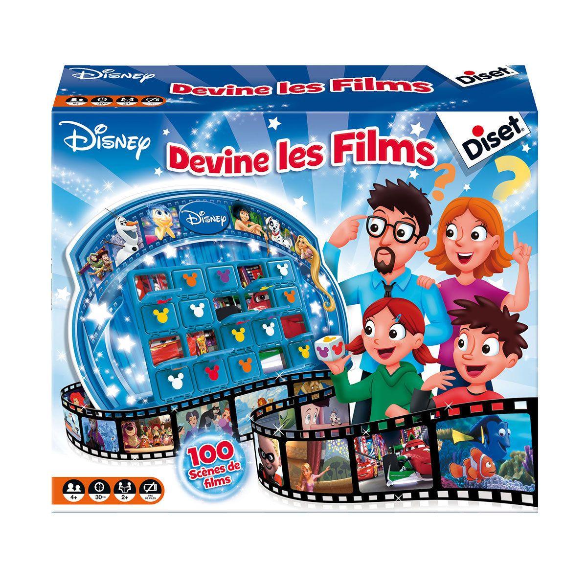 Jeu de société Devine les Films Disney Devine les Films Disney ...
