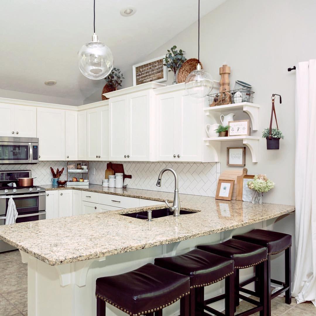 Farmhouse Kitchen Decor - Sarah | Grace In My Space (@graceinmyspace ...