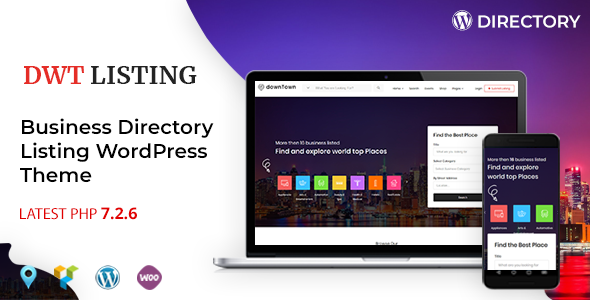 dwt listing directory listing wordpress theme website