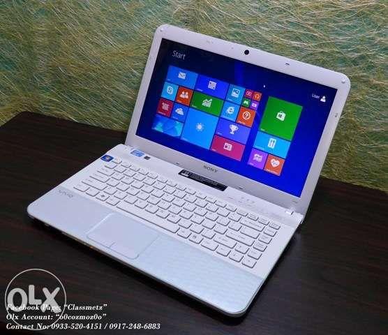 white sony vaio vpceg1bfx e series 14 1inch windows 8 1